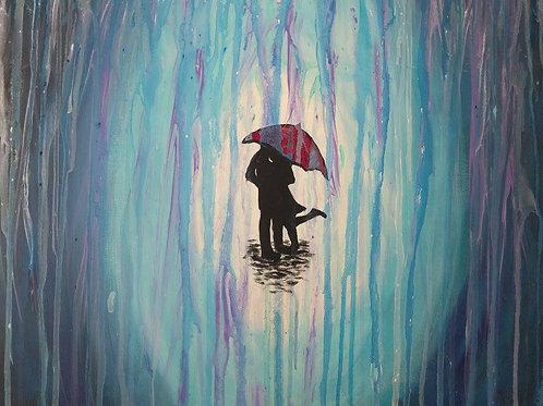 Couple in Rain - Sept 13th 7-9pm