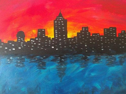 Sunset Skyline - Aug 31st 7-9pm