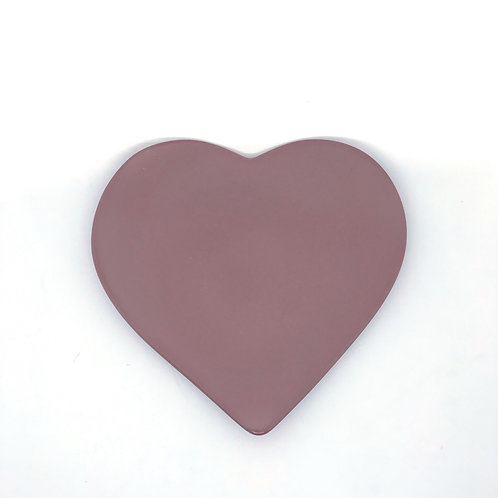 Plato corazón pequeño