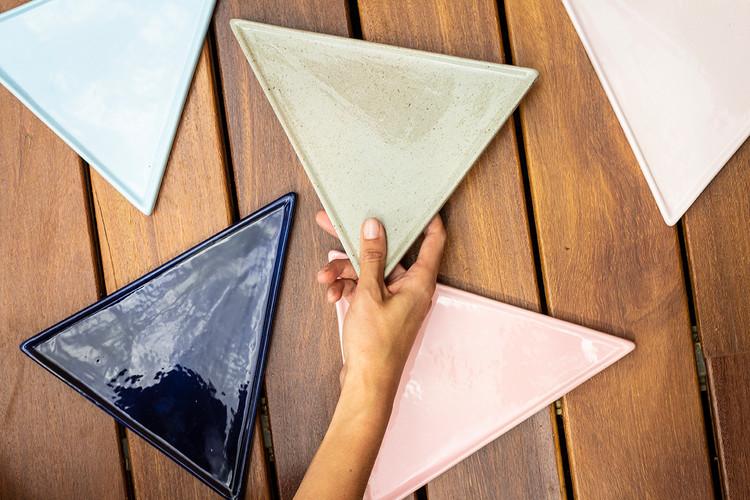 Platos triángulares