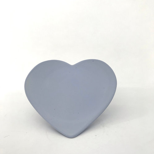 Plato corazón grande