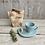 Thumbnail: Taza Cono (espresso) y plato conejo