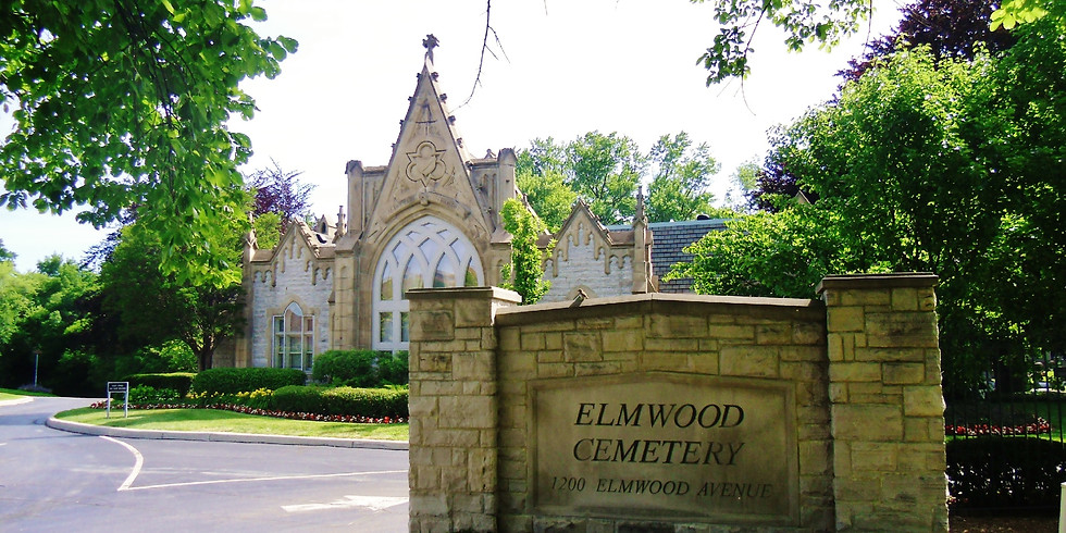 Meditation & Walk at Elmwood Cemetery.  Sun 6/27  9-10:45am