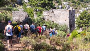Pesona Gaya Yunani di Kayakoy Turki