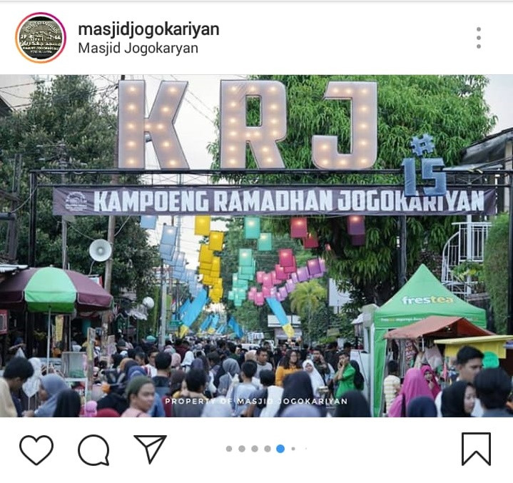 Unik Suasana Ramadan Di Masjid Jogokariyan