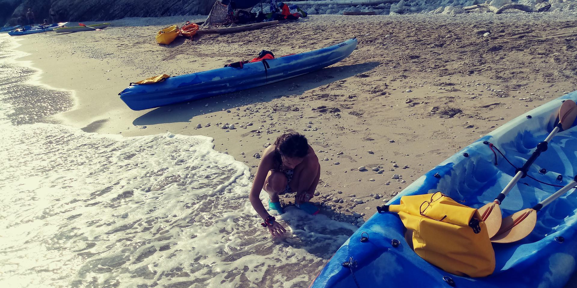 Kayak - spiaggie nascoste a Portonovo