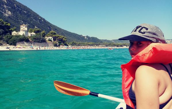 Uscita in Kayak a Portonovo