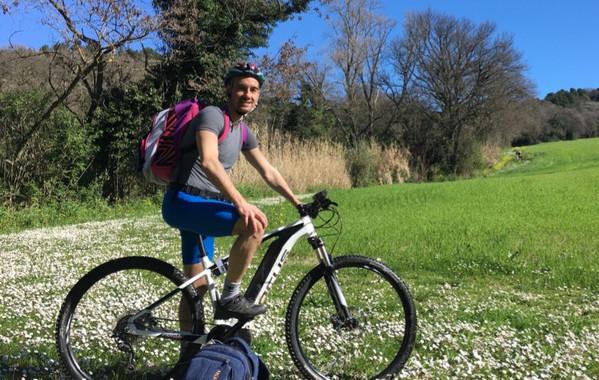 Tour in e-bike nelle colline del Conero