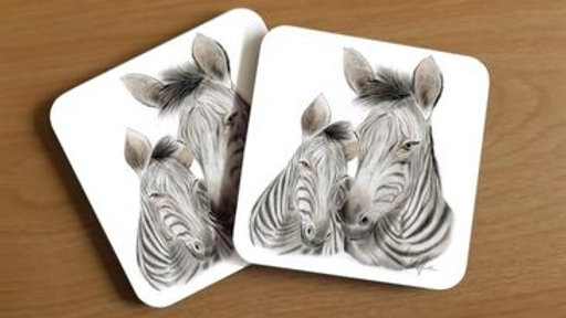Zebra Coaster (1)