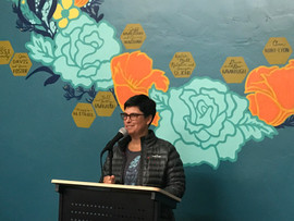 Nicole R. Zimmerman opened our special LitQuake event in October