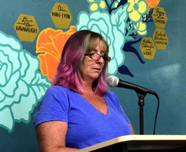 Claire Hennessey reads from her recently published essay