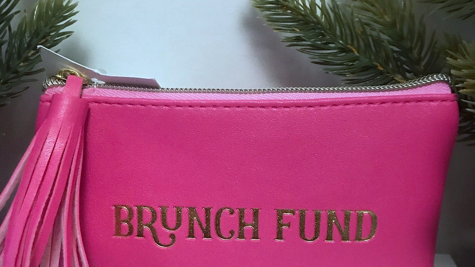 Brunch Fund Money Pouch