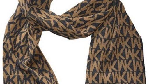 Michael Kors Logo Scarf - Camel