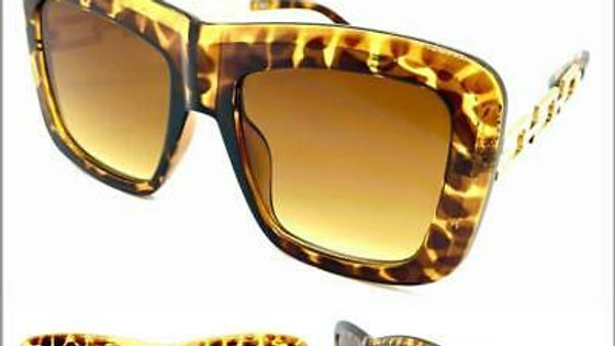 Exaggerated Leopard Print