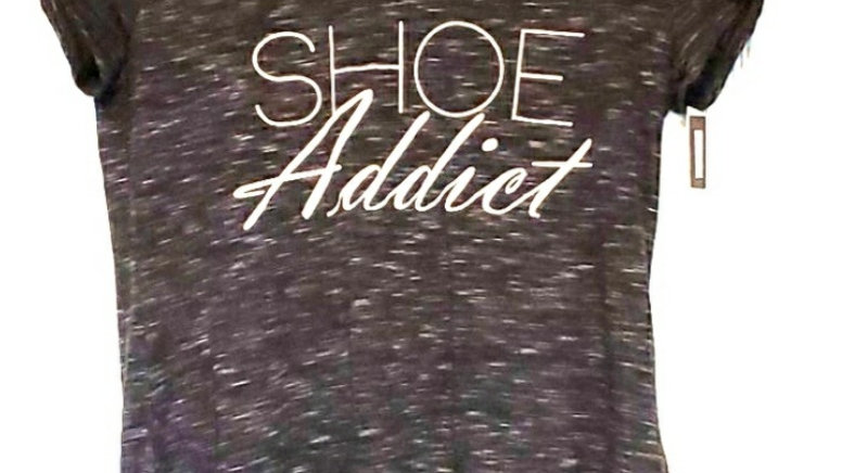 Shoe Addict Cursive T-Shirt