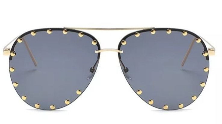 The K Studded Collection- BLK
