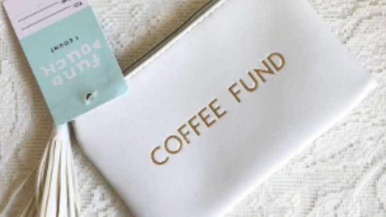 Coffee Fund Pouch
