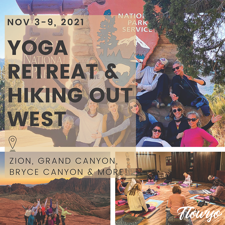 Yoga + Hiking Out West