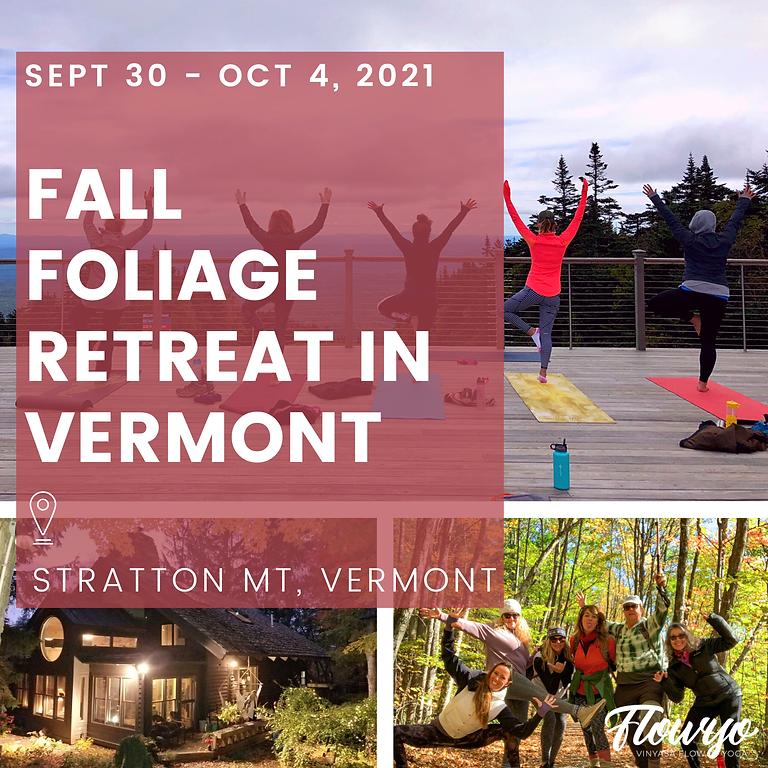 Fall Foliage in Stratton Mountain, Vermont