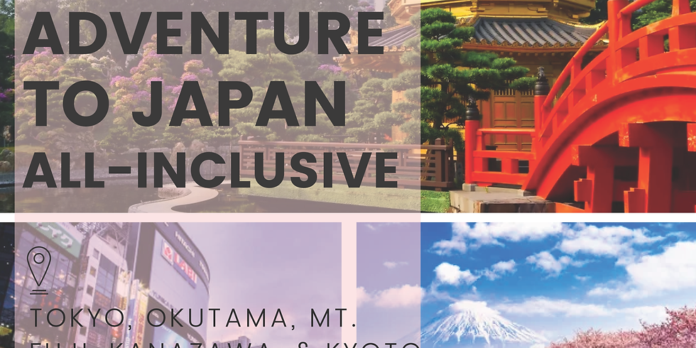 All-Inclusive Adventure to Japan