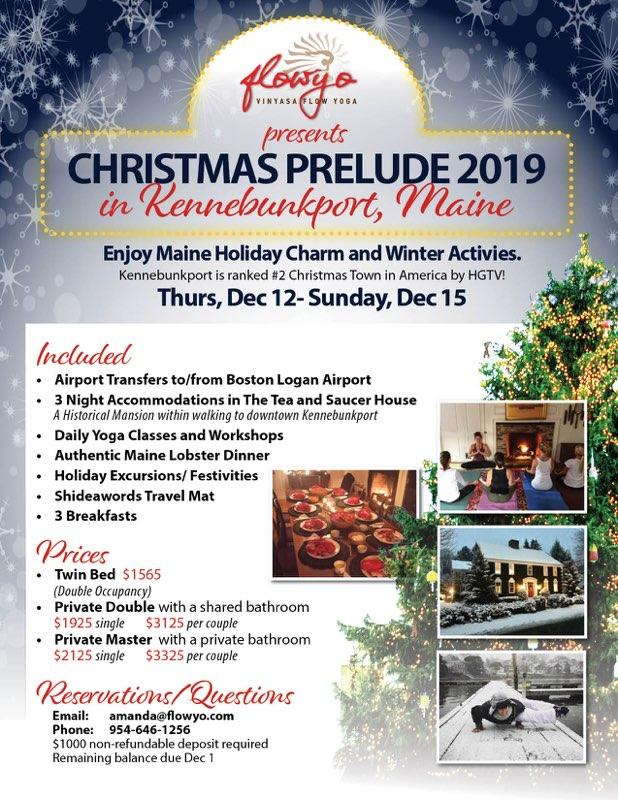 Kennebunkport Christmas Prelude 2019.Christmas Prelude Retreat In Maine