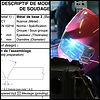 assemblage, DMOS, Descriptif Mode Operatoire de Soudage, soudage, formation, metz, moselle, lorraine,