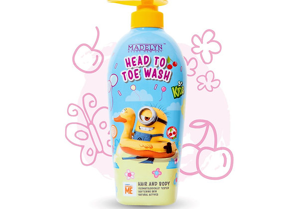 Minions Freshy Peach Head to Toe Wash Kids (500ml)