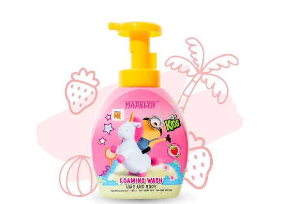Minions Lovely Strawberry Foaming Wash