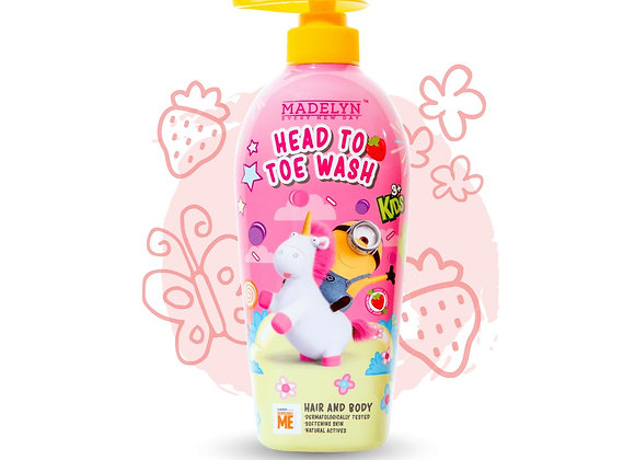 Minions Lovely Strawberry Head to Toe Wash Kids (500ml)