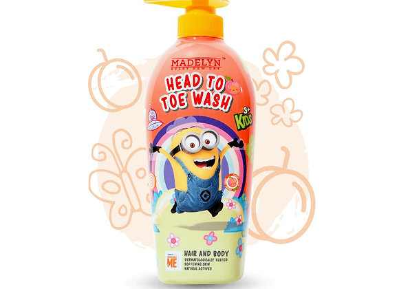 Minions Happy Cherry Head to Toe Wash Kids (500ml)