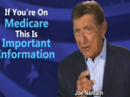 Can You Trust Joe Namath For Medicare Advice?
