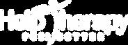 Help Therapy Logo Transparent Blue Backg