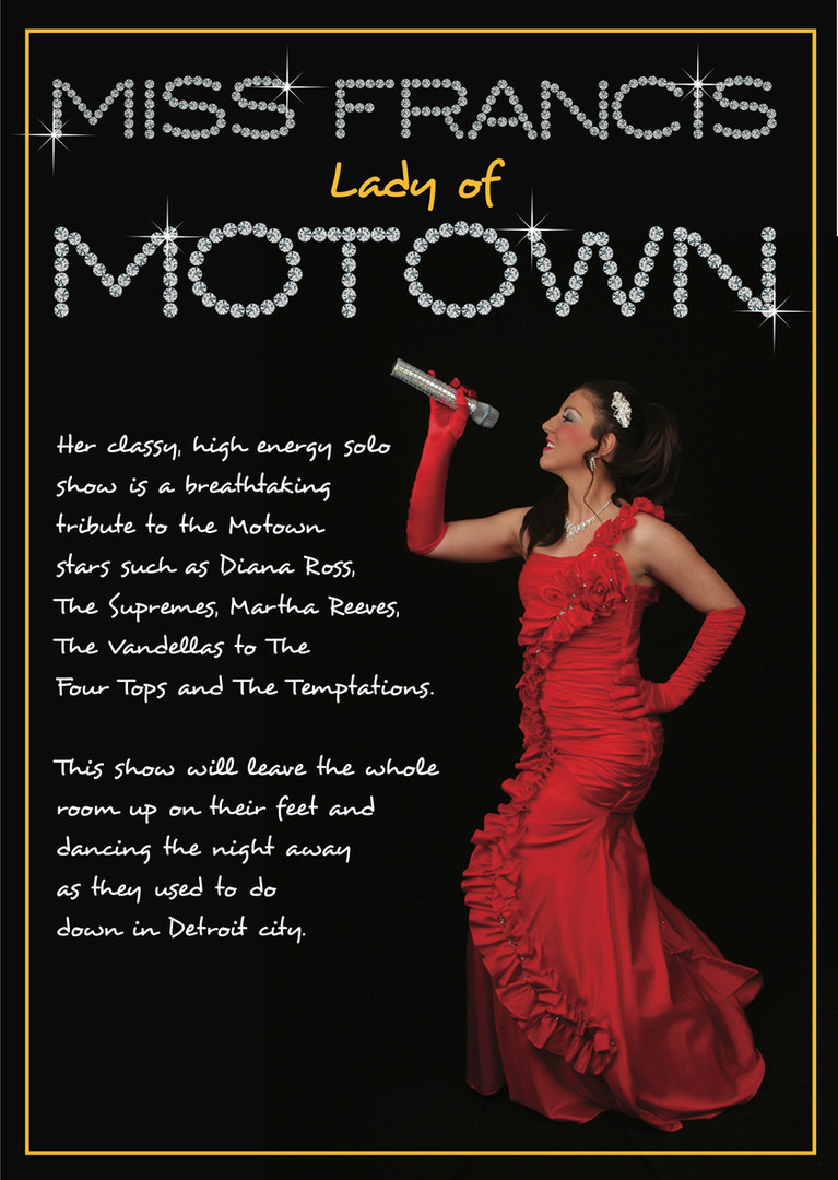 Lady of Motown Tribute Show