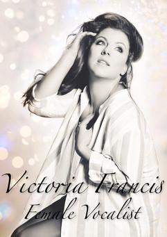 victoria Francis Female Vocalist new pos