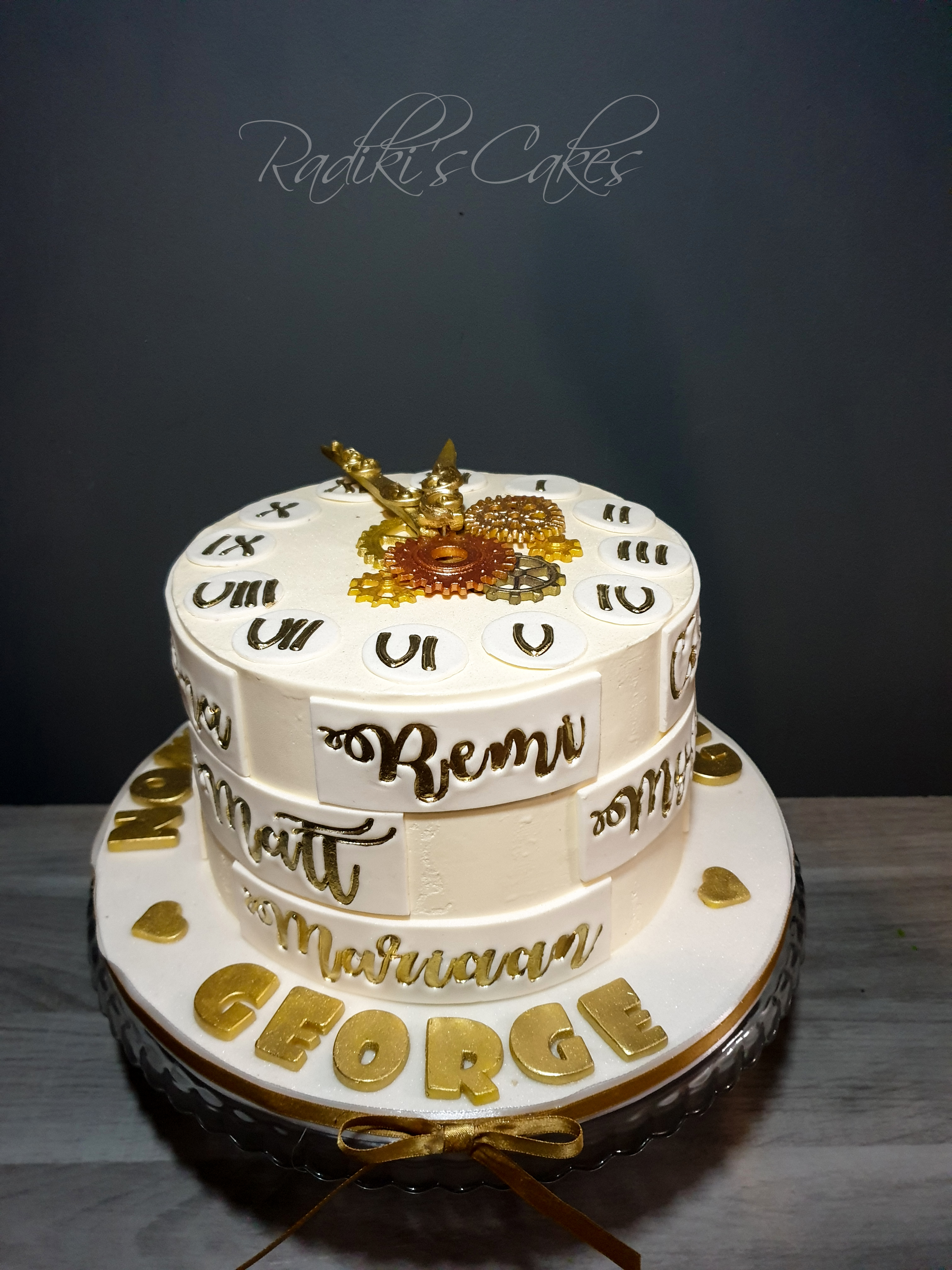 New Years Eve cake