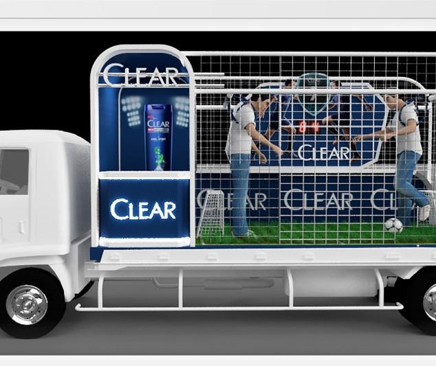 Clear shambow roadshow campaign