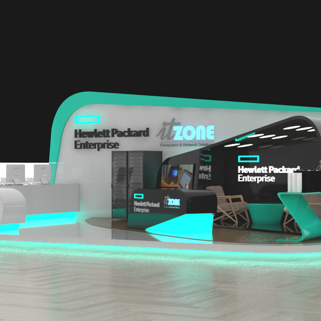 it zone booth