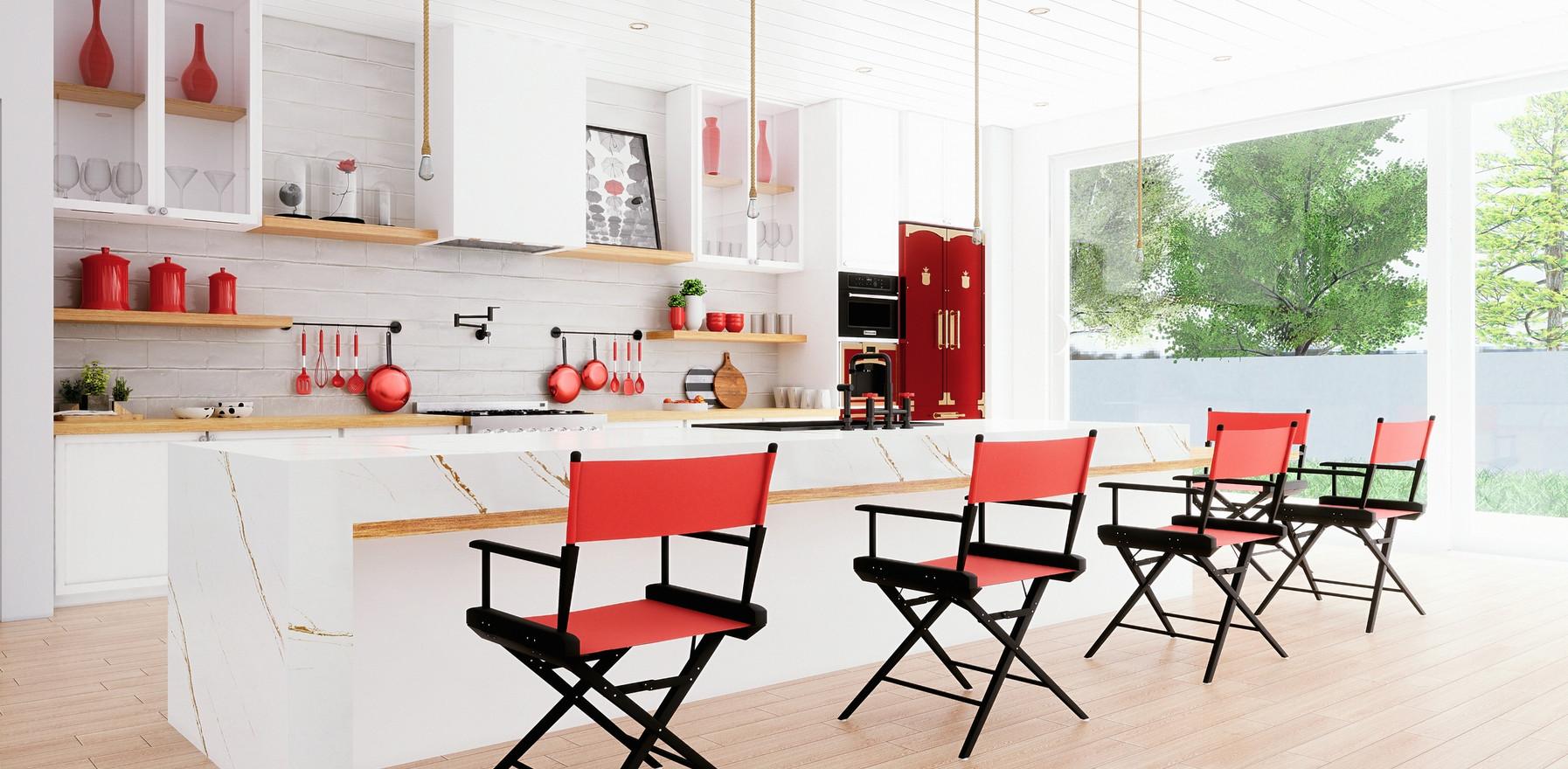 UE4 Archviz - Contemporary Kitchen Design B-Roll