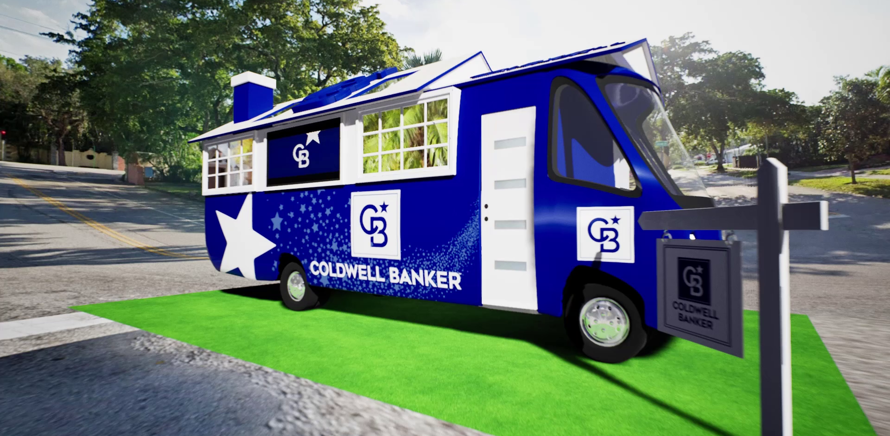 ColdWell banker egyption roadshow campaign