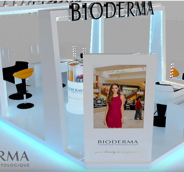 Bioderma booth campaign