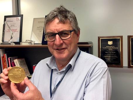 Heart-stopper award for Prof Baker