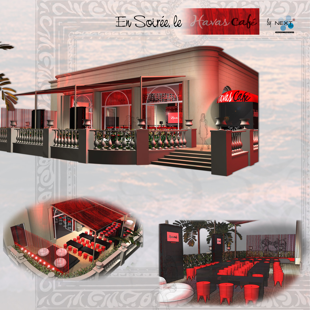 Projet restaurant Havas Café