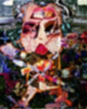 59江中裕子『拘束』コラージュ162×130.3㎝2004.jpg