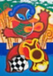 46石原峯明『鳥と魚と妊婦』アクリルP1002007.jpg