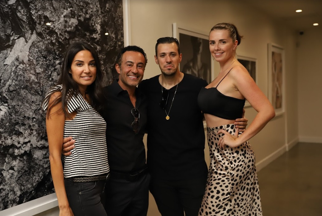 Art advisors and Vika Petlakh