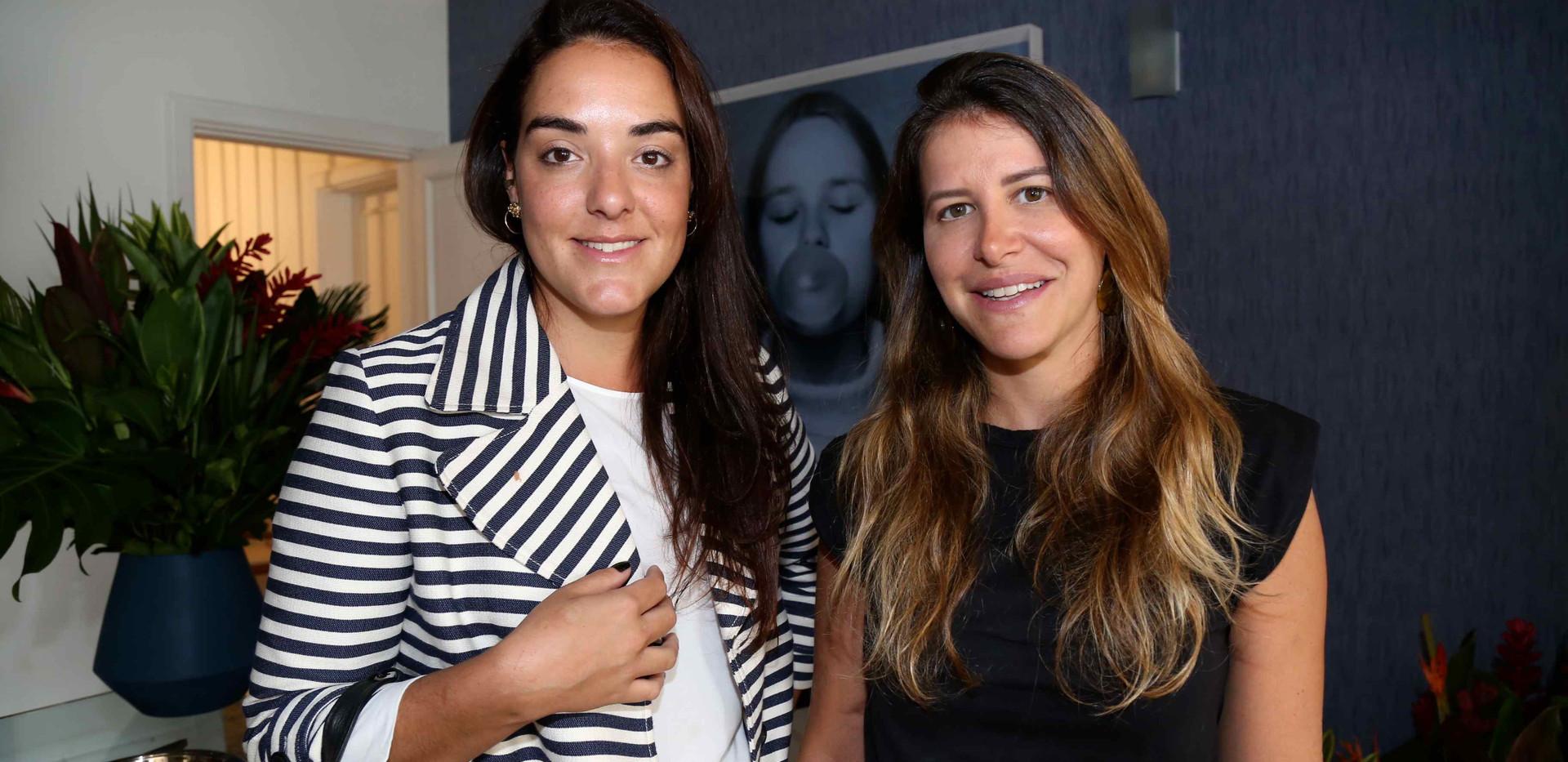 Giovanna Barbieri e Fernanda Pedreira