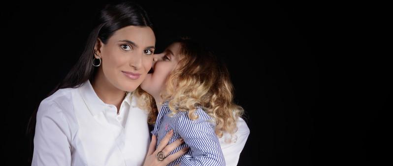 Duda e Georgina Derani
