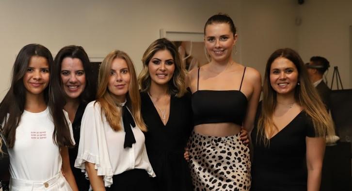 Clija Chait, Clarissa Rezende, Camila Rezende, Ana Karolina Ferrari, Vika Petlakh, Juliana Johnson