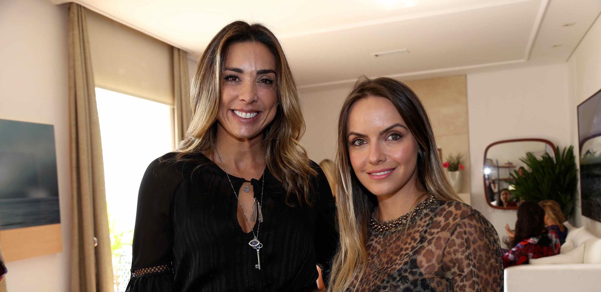 Aline Ritzmann e Maria Julia Melo