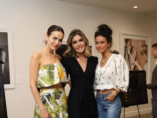 Camilla Belle, Ana Karolina Ferrari and Emmanuelle Chriqui
